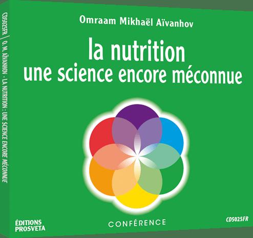 CD - La nutrition une science encore méconnue